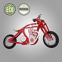 Беговел деревянный  Solid Design Harlik Красный