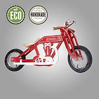 Беговел деревянный  Solid Design Bartka Красный