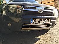 Dacia Duster Цельная нижняя решетка нерж