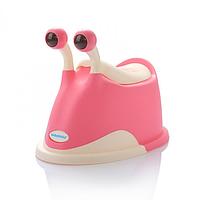 Горшок Улитка Babyhood Розовый (EB-311P)