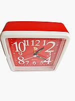 Будильник кварцевый Buda Clock Красный