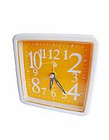 Будильник кварцевый Buda Clock Желтый