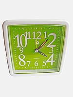 Будильник кварцевый Buda Clock Зеленый
