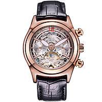 Мужские часы Forsining 1534 Black