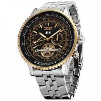 Мужские часы Jaragar 1021 Silver