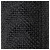 Канва для вышивки крестом 14 (5,4кл/1см) 38*15см Черная Stern Aida 3706/720 Zweigart