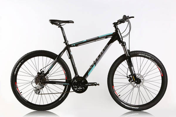 """Горный велосипед ARDIS AURUM MTB 26"""" 21""""  Черный/Бирюзовый"""