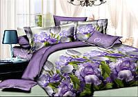 Двуспальный комплект постельного белья евро 200*220 хлопок  (8931) TM KRISPOL Украина