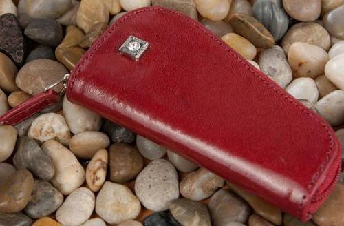 Оригинальный кожаный чехол для ключей VERUS Tokyo 01R TK красный