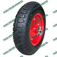Колесо для тачки 3.50-8 пневматическое, под ось 20 мм, с толстой шиной