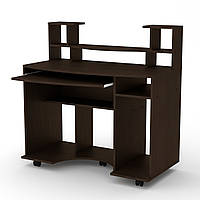 Стол компьютерный комфорт-1 Компанит Венге темный