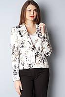 Пиджак Izzet 40 Белые розы (pjk017/40)