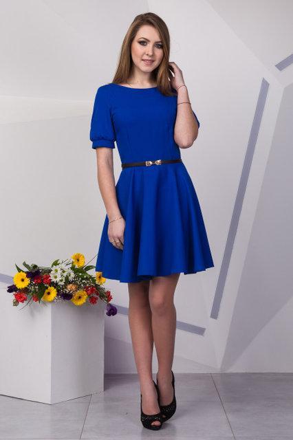 2c63db6d8f6 Стильное женское платье с юбкой солнце клеш   продажа