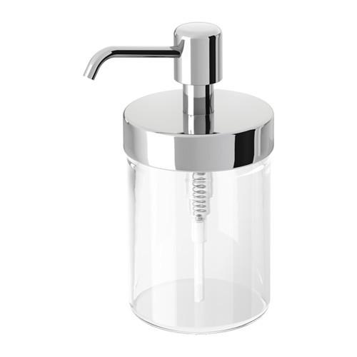 Дозатор для жидкого мыла IKEA VOXNAN хром-эффект  203.289.78