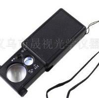Увеличительное стекло с LED фонариком (лупа) 9881, фото 1