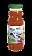 Органический сок Fleur Alpine осветленный Яблоко-Гранат 200 мл