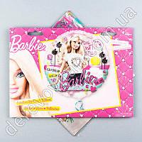 """Воздушный/гелиевый шар """"Barbie"""", прозрачный, 66см"""