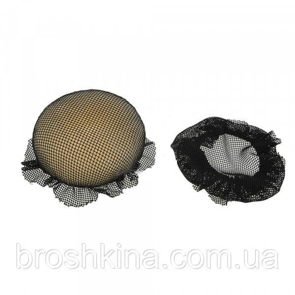 Сеточка для гульки эластичная хорошего качества черная 12 шт/уп