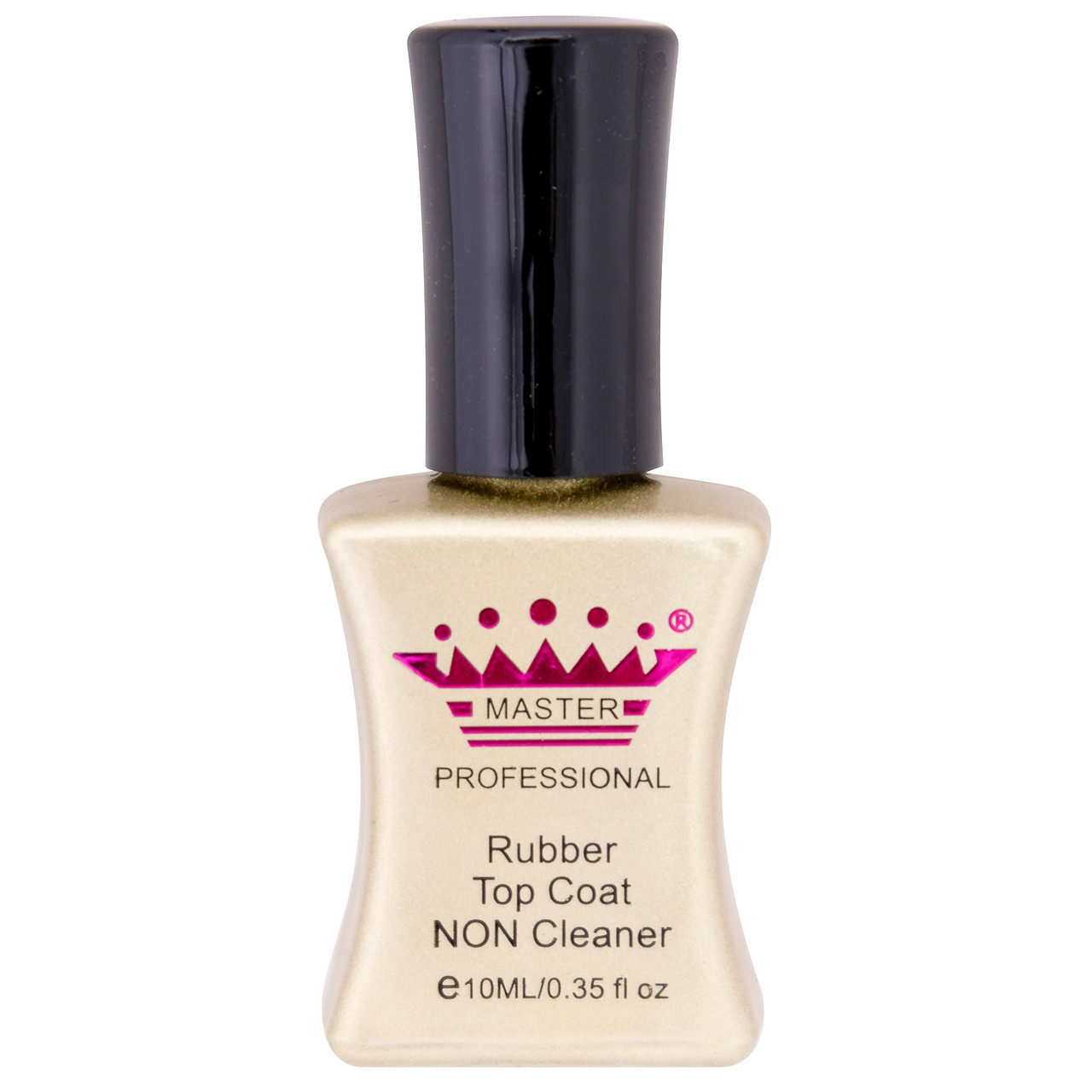 Rubber top non cleaner 10 мл master professional(верхнее покрытие без липкого слоя)