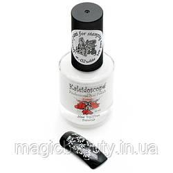 Фарба для стемпинга Kaleidoscope st - 02 біла, 15 мл