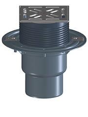 HL3100T Трап для внутренних помещений DN75/110 верт. с морозоустойчивым запахозапирающим клапаном