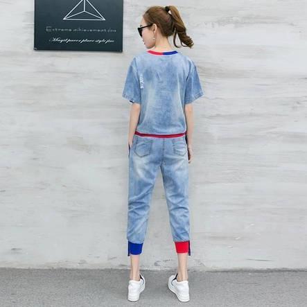 Женский костюм джинс, фото 2
