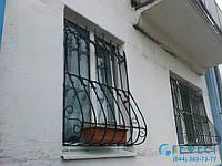 Решетка на окно сварная с элементами ковки - 70