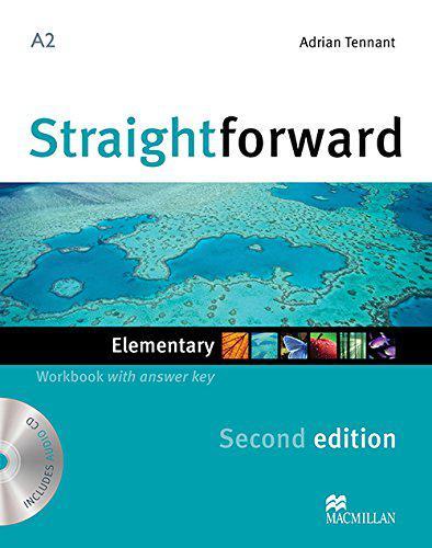 Straightforward Second Edition Elementary Workbook with key and Audio-CD (Рабочая тетрадь)