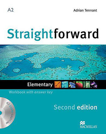Straightforward Second Edition Elementary Workbook with key and Audio-CD (Рабочая тетрадь), фото 2