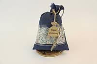 Сувенирный мешочек Мішок Достатку  Большой  Темно Синий (1018)
