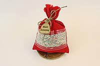 Сувенирный мешочек Мішок Достатку  Средний Красный (1009)