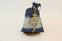 Сувенирный мешочек Мішок Достатку  Средний Синий (1011)