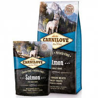 Корм для собак Carnilove Salmon For Adult Dogs (с лососем), 1.5 кг