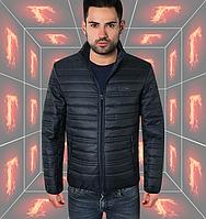 Весенняя модная мужская куртка - 308 джинс