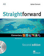 Straightforward Second Edition Elementary Workbook without key with Audio-CD (Рабочая тетрадь)