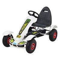 Веломобиль детский педальный карт G1 (надувные колеса) 2018 new, фото 1