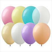 """Воздушные шары 12"""" нежный ассорти микс (assorted) 100 шт. ТМ Арт Шоу"""