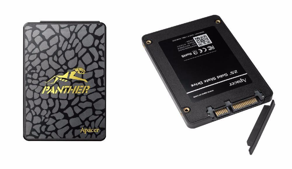 "SSD диск Apacer AS340 Panther 240GB 2.5"" SATAIII TLC (AP240GAS340G-1) ""Over-Stock"""