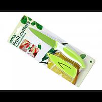 Нож для очистки овощей и фруктов НК(зеленый)