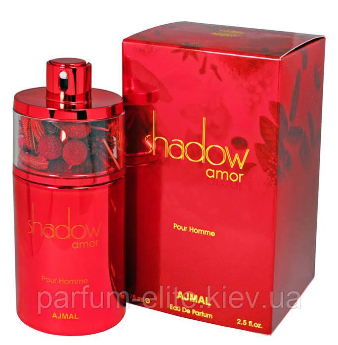 парфюмированная мужская вода с феромонами Ajmal Shadow Amor Pour