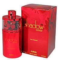 Парфюмированная мужская вода с феромонами Ajmal Shadow Amor Pour Homme 75ml