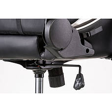 Кресло геймерское Special4You ExtremeRace black/white with footrest (Е4732), фото 3