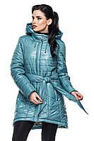 Удлиненная демисезонная куртка