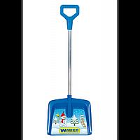 Лопата железная ручка для снега арт. 72250, детская лопатка, игрушка для игр со снегом