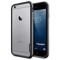 "Бампер SGP Neo Hybrid EX Series для Apple iPhone 6/6s (4.7"") (+пленка) Металл / Gun Metal / SGP11816"