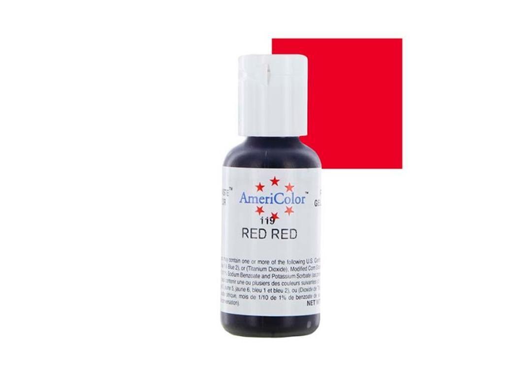 Краситель гелевый Americolor Красный-Красный 119