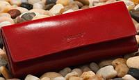 Стильная кожаная ключница VERUS Milano 02R ML красная