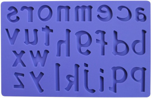 Коврик Латинские Буквы   200*125мм(шт)