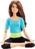 Барби Йога Шатенка Безграничные движения Barbie Made To Move