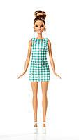 Кукла Барби Игра с модой, Barbie Fashionistas Emerald Check